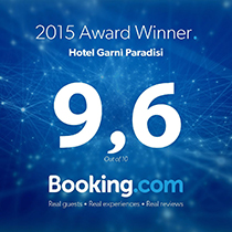 Award Winner 9,6 Booking.com